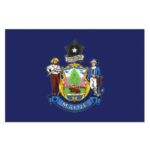 Maine State Shaped Promotional Items - Maine State Flags