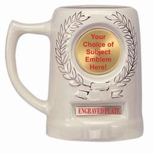 Custom Engraved Emblem Mugs!