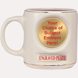 Baseball Batter Emblems and Seals - Emblem Mugs