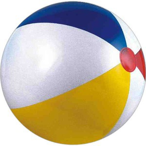 Alternating Color Beach Balls - Many Color Alternating Color Beach Balls