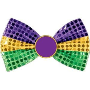Mardi Gras Promotional Items - Mardi Gras Bow Ties