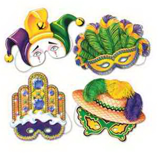 Mardi Gras Promotional Items - Mardi Gras Masks