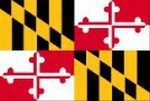 Maryland State Shaped Promotional Items -