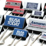 Custom Imprinted Medium Binder Clips