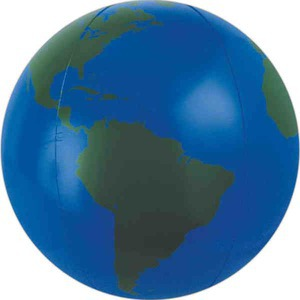 Globe and Earth Promotional Items - Medium Globe Beach Balls