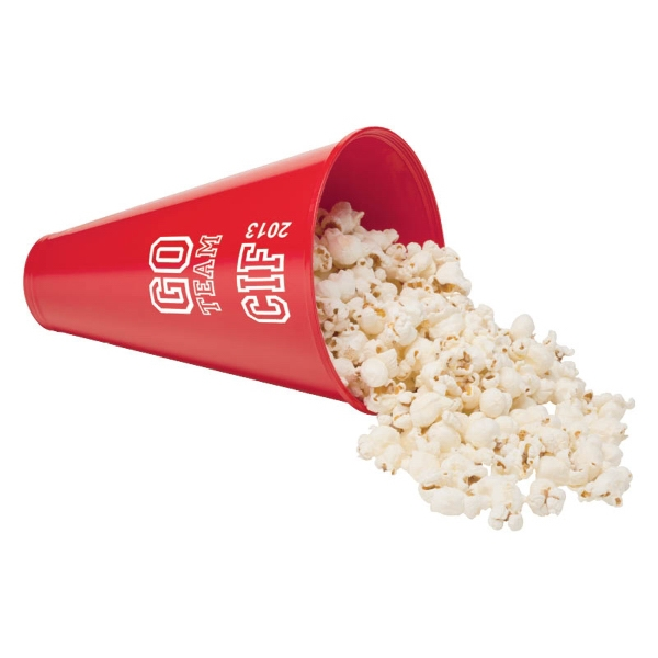 Custom Imprinted Popcorn Disc Megaphones