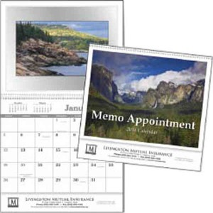 Custom Imprinted Memo Appointment with Picture Commercial Calendars