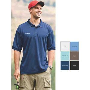 Custom Embroidered Mens Columbia Golf Polo Shirts!