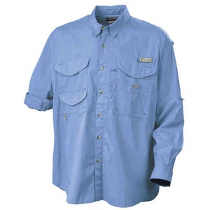 Wadayaneed Mens Columbia Woven Dress Shirts Embroidered