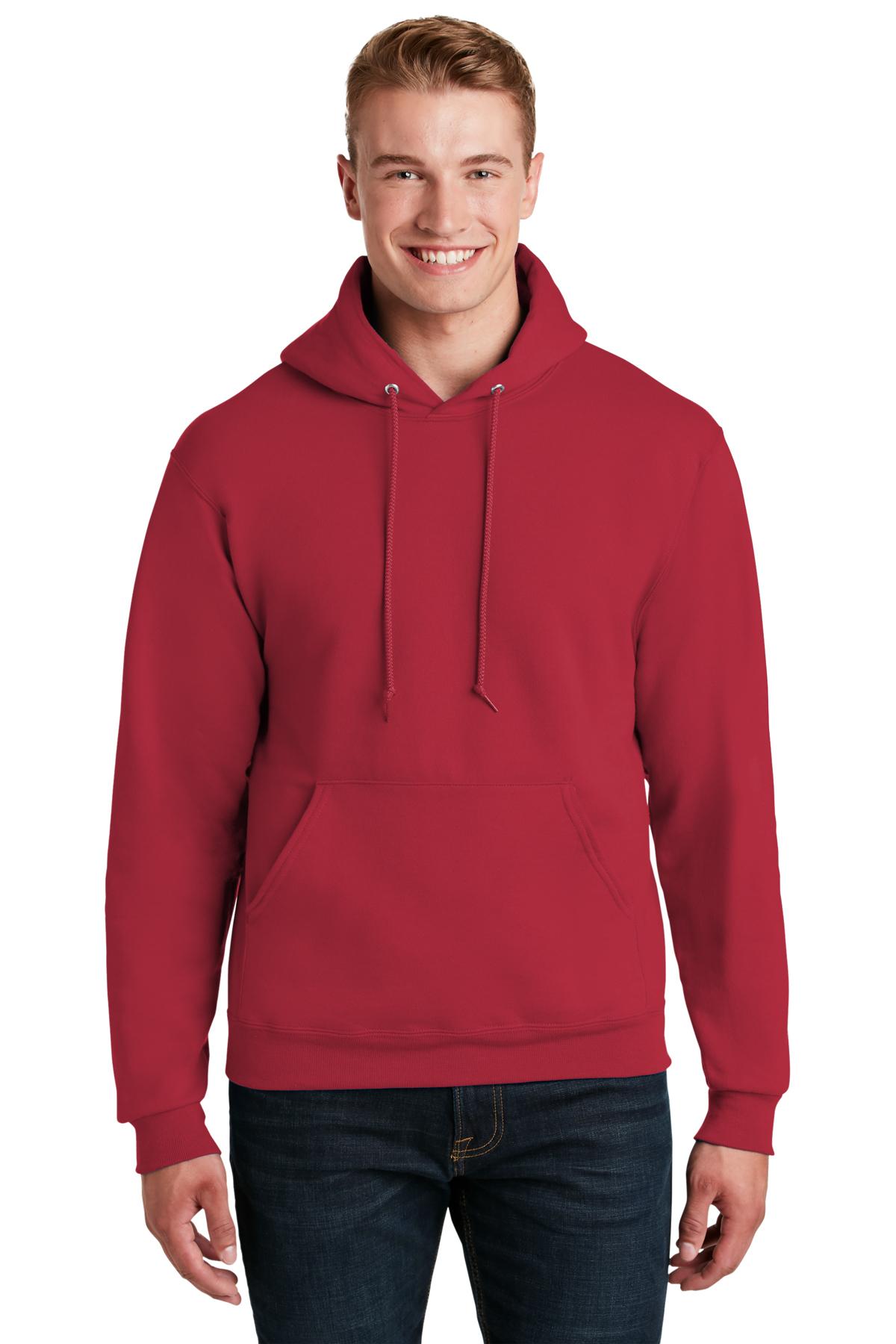 Custom Embroidered Mens Jerzees Hoody Sweatshirts!