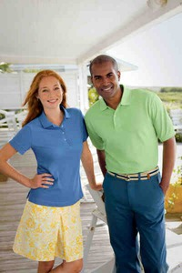 Custom Imprinted Mens Outer Banks Golf Polo Shirts