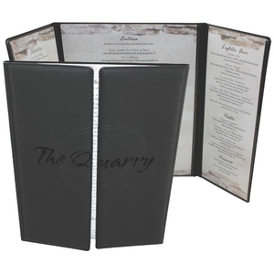 Personalized Menu Covers!