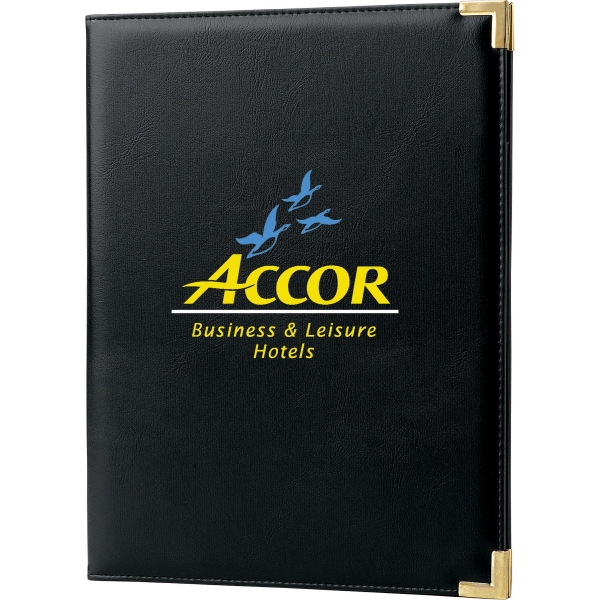 Custom Printed 1 Day Service Portfolios with Notepads!