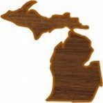 Michigan State Shaped Promotional Items -
