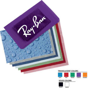 Custom Imprinted Microfiber Cleaning Cloths!