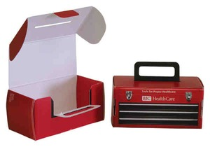 Custom Imprinted Mini Tool Boxes!