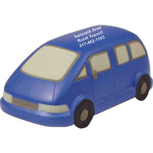 Personal Transportation Stress Ball Squeezies - Mini Van Stress Ball Squeezies