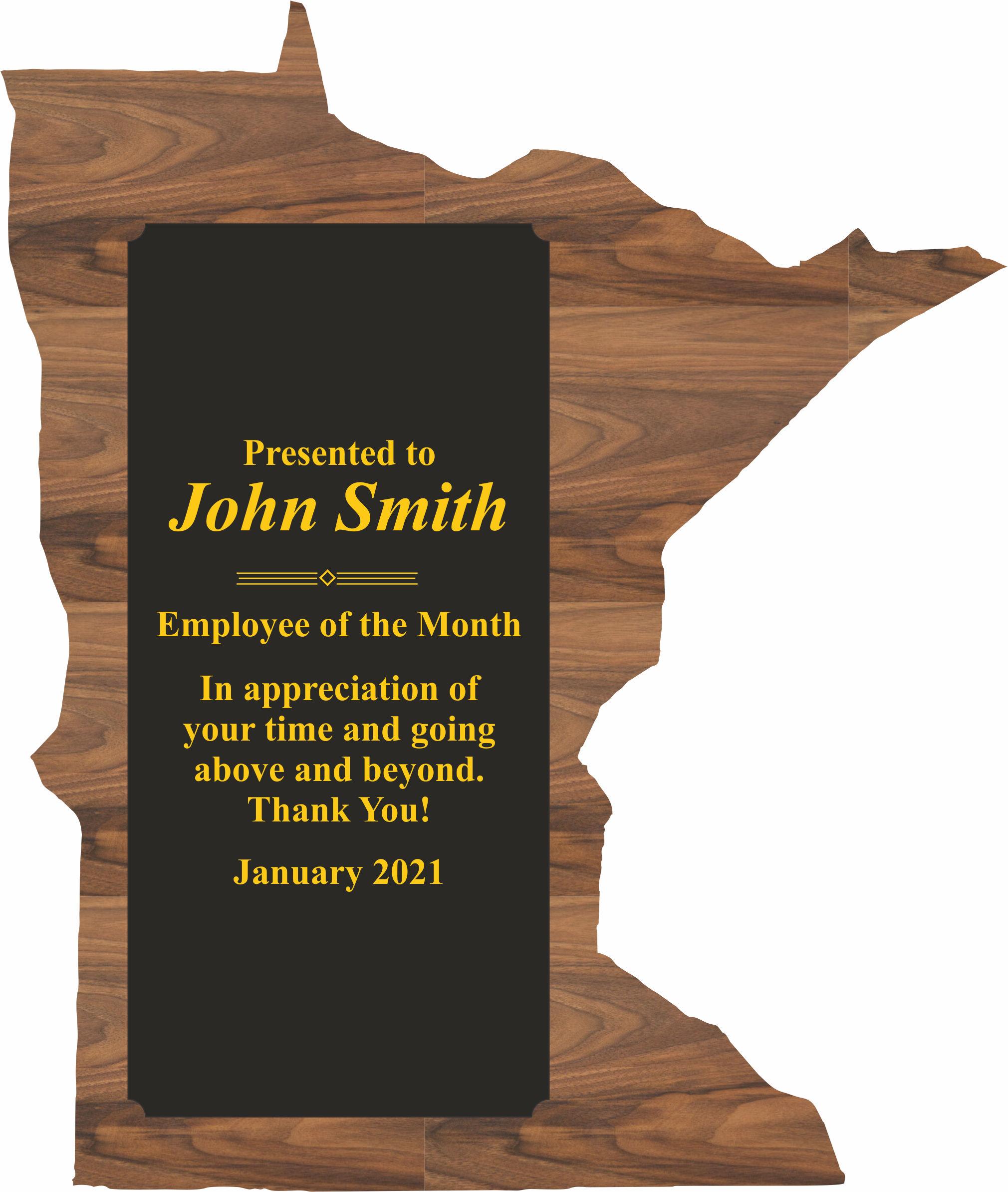 Minnesota State Shaped Promotional Items -