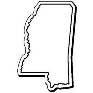 Custom Imprinted Mississippi Shaped Magnets