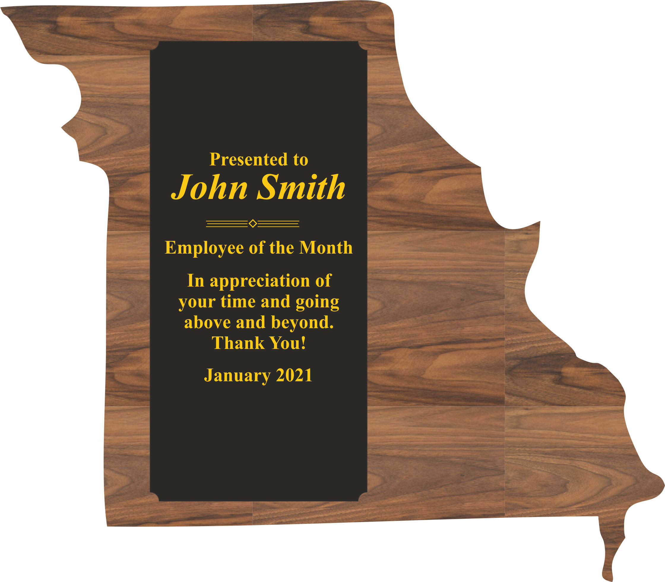 Missouri State Shaped Promotional Items -
