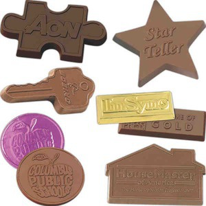 Custom Imprinted Molded Chocolates!