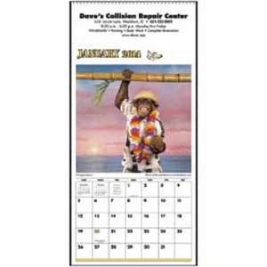 Monkey Animals - Monkey Business Executive Calendars
