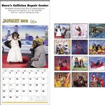 Custom Imprinted Monkey Business Executive Calendars