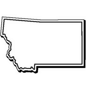 Montana State Shaped Promotional Items -