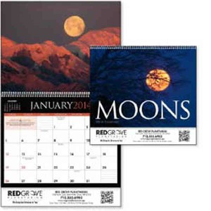 Custom Imprinted Moons Appointment Calendars