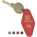 Custom Imprinted Motel and Hotel Key Tags