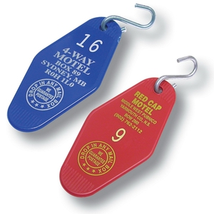 Motel and Hotel Industry Promotional Items - Motel and Hotel Key Tags