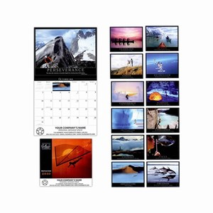 Custom Imprinted Motivation Wall Calendars