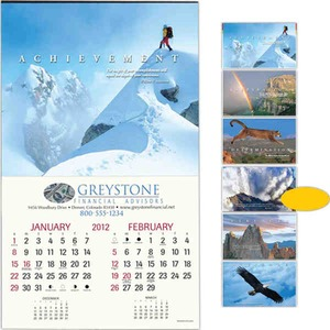 Custom Imprinted Motivations Executive Calendars