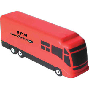 Personal Transportation Stress Ball Squeezies - Motor Coach Stress Ball Squeezies