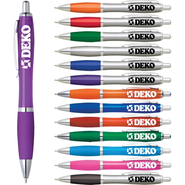 Custom Printed 1 Day Service Click Action Pens