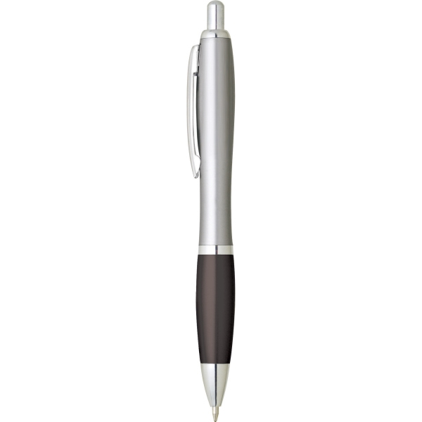 Customized 1 Day Service Silver Click Pens!