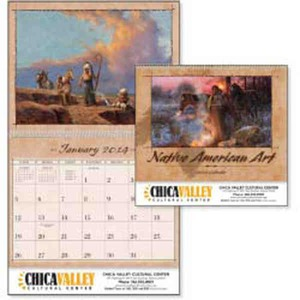 Custom Decorated Native American Art Appointment Calendars