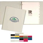 Custom Imprinted Recycled Binders