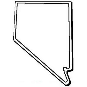Nevada State Shaped Promotional Items -