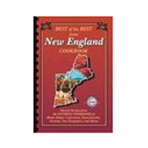 Personalized New England State Cookbooks