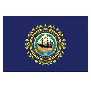 New Hampshire State Shaped Items -