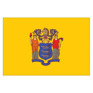 New Jersey State Shaped Items -