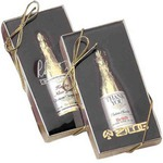 Custom Imprinted Chocolate Champagne Bottles