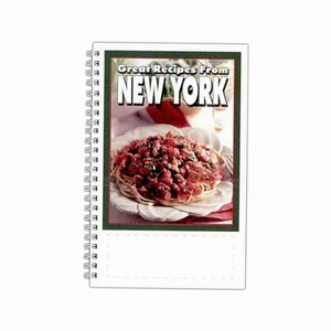 Custom Imprinted New York State Cookbooks