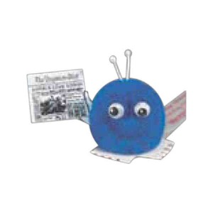 Sign and Flag Holding Weepuls - Newspaper Holding Weepuls