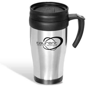 Custom Imprinted Next Day Service On Steel Mugs
