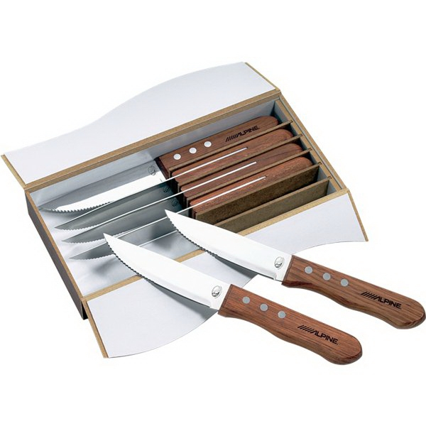Custom Imprinted Canadian Manufactured Niagara Cutlery Steak Knife Sets