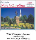 Custom Imprinted North Carolina Wall Calendars