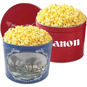 Filled Gift Tins - Old Fashioned Popcorn Tins