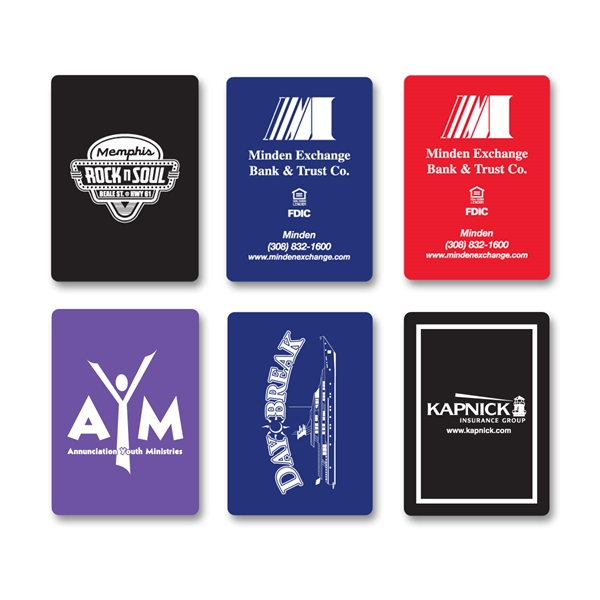 Custom Imprinted Casino Style Playing Cards